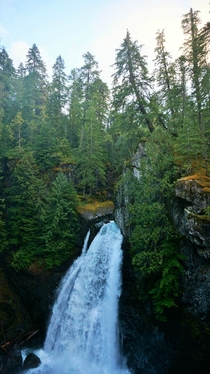 Lady Falls Vancouver Island - Canada