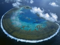 Lady Musgrave Island coral atoll Great Barrier Reef Australia