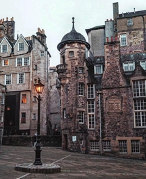 Lady Stairs Close home of the Writers Museum Edinburgh Scotland Image - Georgina Lamrock