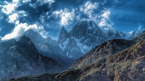 Ladyfinger Peak Hunza Valley Pakistan