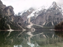 Lago di Braies South Tyrol Italy