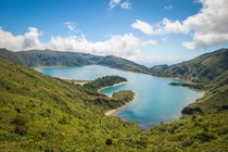 Lagoa do Fogo - A crater in the Azores x