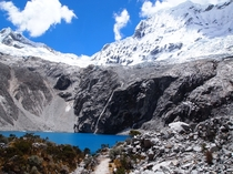 Laguna  Huascaran National Park Peru