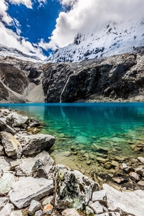 Laguna  Huascarn National Park Peru