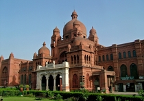 Lahore Museum Pakistan constructed in