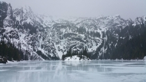 Lake Angeles in the winter