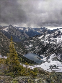 Lake Ann tucked away in the North Cascades of Washington