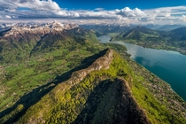 Lake Annecy a perialpine lake in Haute-Savoie in France It is known as Europes cleanest lake because of strict environmental regulations introduced in the s  photo by Tristan Shu