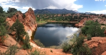 Lake at Red Rock Open Space Colorado Springs Colorado  x subtletraveler