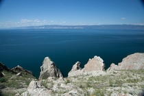 Lake Baikal ape Sagan-Hushun on island Olkhon