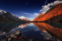 Lake Bashker Gol Chitral Pakistan