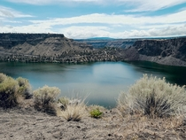 Lake Billy Chinook Oregon USA