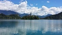 Lake Bled and Bled Island Slovenia