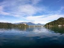 Lake Bled in Bled Slovenia