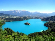 Lake Bled Slovenia by Mark Gregory