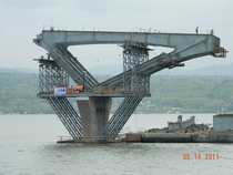 Lake Champlain Bridge Construction
