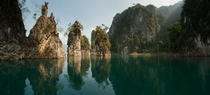 Lake Chao Lan Khao Sok National Park Thailand
