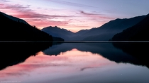 Lake Crescent in Olympic NP WA is  miles long and its depth is unknown Its at least  feet deep