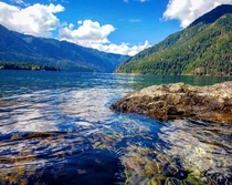 Lake Crescent Olympic National Park WA