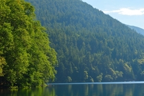 Lake Crescent Olympic National Park Washington