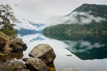 Lake Crescent Olympic National Park Washington State