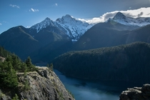 Lake Diablo North Cascades National Park Washington