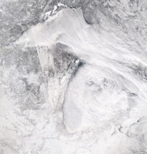Lake effect winter weather across Michigan and Wisconsin Image credit NASAGSFCEOSDIS Aqua MODIS zoomearth