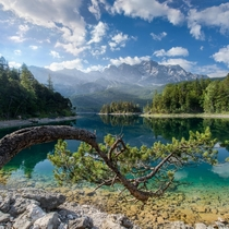 Lake Eibsee Bavaria Germany  Martin