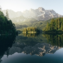 Lake Eibsee Germany  Instagram bavarianexplorer