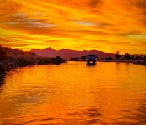 Lake Havasu City Sunset x