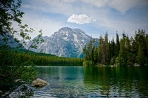 Lake in Grand Teton National Park