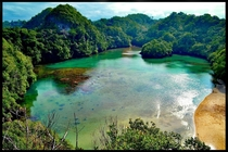 Lake in Sempu Island  x