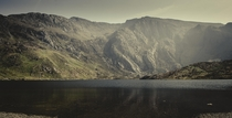 Lake in Snowdonia Wales