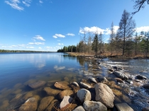 Lake Itasca and the headwaters of the Mississippi OC