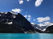 Lake Louise Banff National Park in late May Missing this place a little extra today