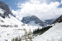 Lake Louise is more than just a lake Trek behind the lake to see  magnificent glaciers OC