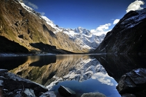 Lake Marian a glacier lake at Fiordland national park in New Zealand Photo by Kenny Li