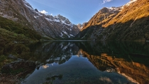 Lake Marian Fiordland National Park New Zealand  by Hafizul Raduan x-post rNZPhotos