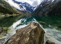 Lake Marian Track at Fiordland National Park NZ