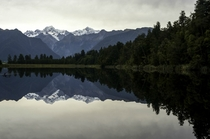 Lake Matheson and Mt Cook