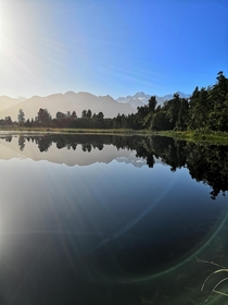 Lake Matheson Franz Josef New Zealand x OC