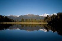 Lake Matheson near Franz Josef NZ fall