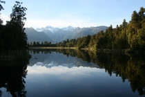 Lake Matheson The Mirror Lake New Zealand