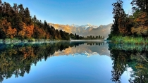 Lake Matheson West Coast New Zealand  x-post rNZphotos
