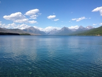 Lake McDonald in Glacier National Park Montana