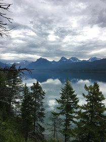 Lake McDonald in Glacier National Park West Glacier MT
