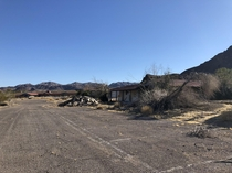 Lake Mead Lodge abandoned in  Lake Mead NV