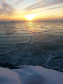 Lake Michigan at Dawn