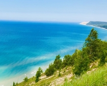 Lake Michigan at Empire Bluffs Empire MI