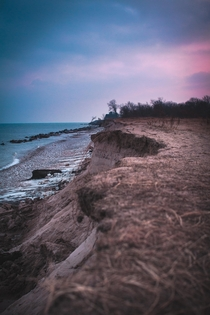 Lake Michigan Erosion - Kenosha Wisconsin - x